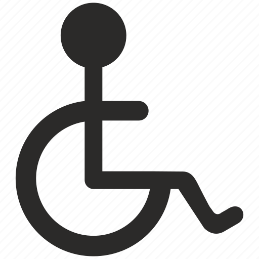 airport, care, carriage, invalid, service, wheelchair icon