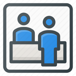 airport, chack, check, in, information, tcket, terminal icon