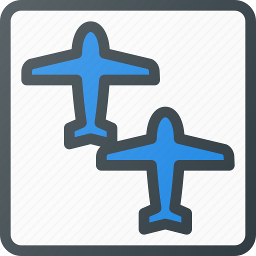 airport, connecting, plane, protectionflights, terminal icon