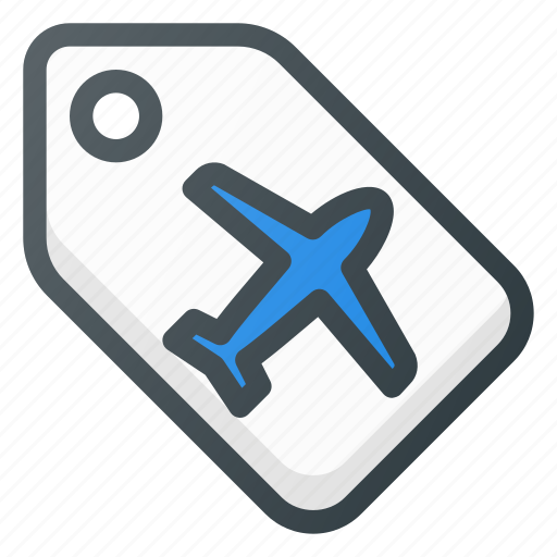 airport, label, terminal icon