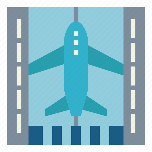 Aircraft, airport, landing, runway icon - Download on Iconfinder