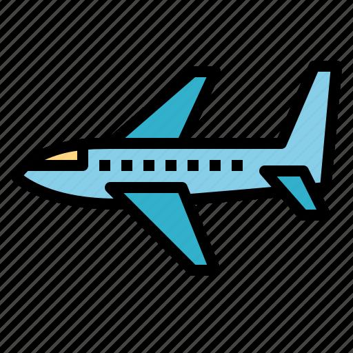 Aeroplane, airplane, flight, transportation icon - Download on Iconfinder