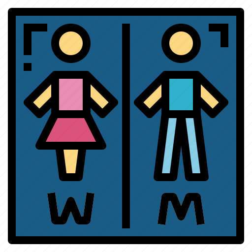 Bathroom, restroom, signaling, toilet icon - Download on Iconfinder