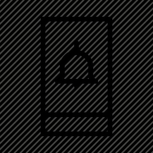 Alarm, alert, bell, signal, smartphone icon - Download on Iconfinder