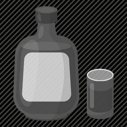 alcohol, beverage, cognac, drink, glass icon