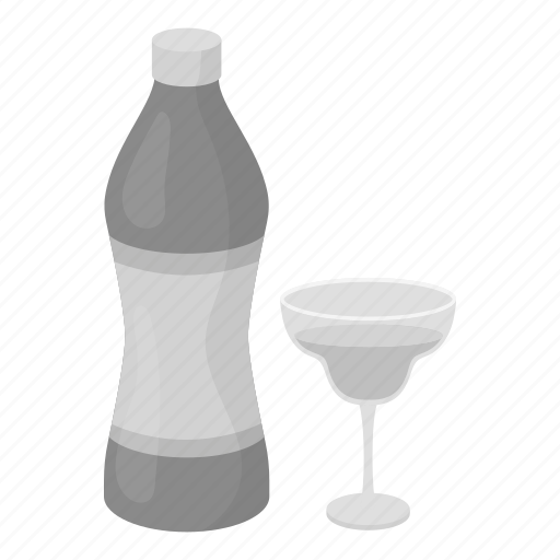 alcohol, beverage, bottle, drink, glass, vermouth icon