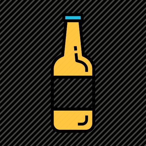alcohol, beer bottle, beverage, drunk, liqour icon