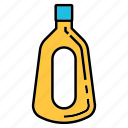 alcohol, beverage, bottle, liquor, thai brandy icon