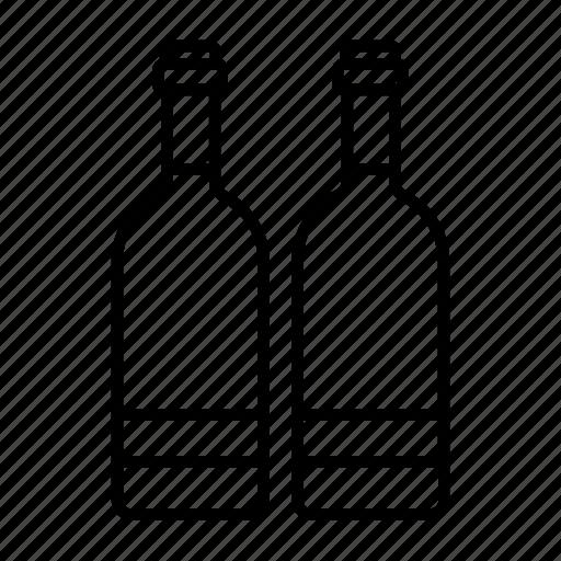 alcohol, bottle, bottles, red wine, spirits, white wine, wine icon