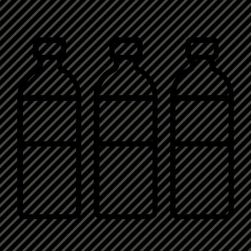 alcohol, bottle, bottled water, plastic bottle, refreshment, water, water bottle icon