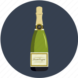 alcohol, beverage, bottle, champagne, drink, party, restaurant icon