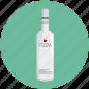 alcohol, beverage, bottle, drink, vodka