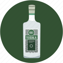 alcohol, beverage, bottle, drink, tequila icon