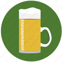 alcohol, bar, beer, beverage, cup, drink, mug icon
