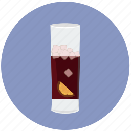 alcohol, beverage, cocktail, drink, exotic, glass icon