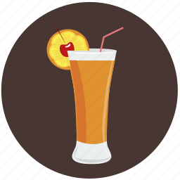 alcohol, bar, beverage, cocktail, drink, exotic, glass icon