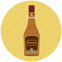 alcohol, beverage, bottle, brandy, celebration, cognac, drink icon