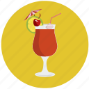 alcohol, cocktail, drink, glass, beverage, shake icon