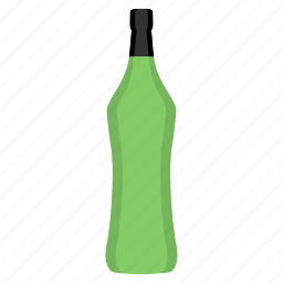 alcohol, alcoholic, bottle, martini, potion, tonic, vermouth icon