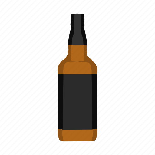 alcohol, bottle, bourbon, drink, spirit, whiskey, whisky icon