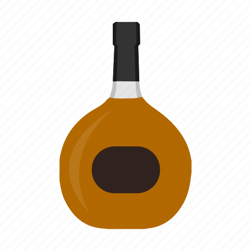 alcohol, beverage, booze, bottle, brandy, drink, spirit icon