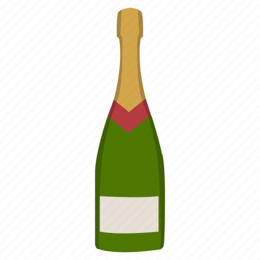 alcohol, booze, bottle, celebration, champagne, drink, new years eve icon
