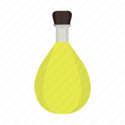 alcohol, bottle, drink, italian, lemon, lemoncello, liqueur icon