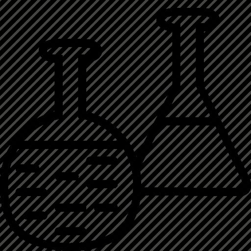 bulb, care, hospital, laboratory, test, tests, tube icon