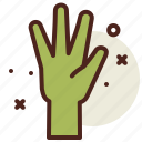 hand, science, space