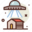 house, science, space, ufo