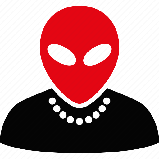 alien, avatar, character, humanoid, monster, profile, ufo icon