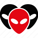 alien, company, conference, customers, social network, team, users icon