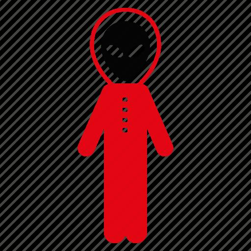 alien, astronaut, exploration, monster, science, space, suit icon