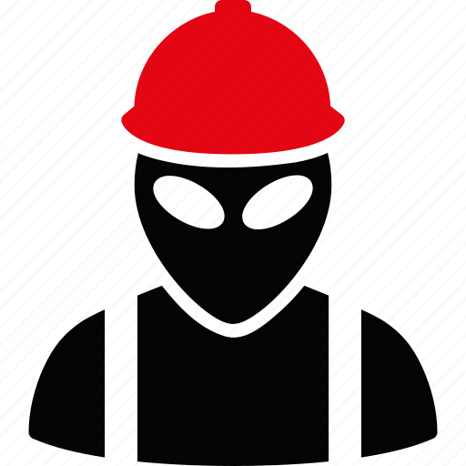 alien, builder, carpenter, job, professional, work, worker icon