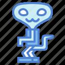 alien, sci fi, science, thriller icon