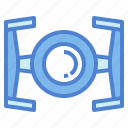 alien, craft, outer, space, ufo icon