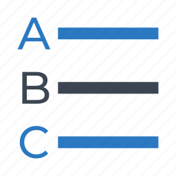 align, alignment, alphabets, format, text icon