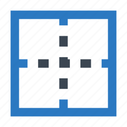border, columns, layout, rows, table icon