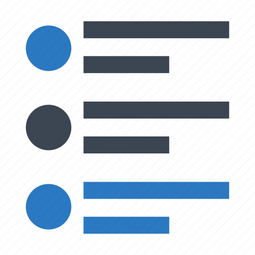align, alignment, format, list, test icon