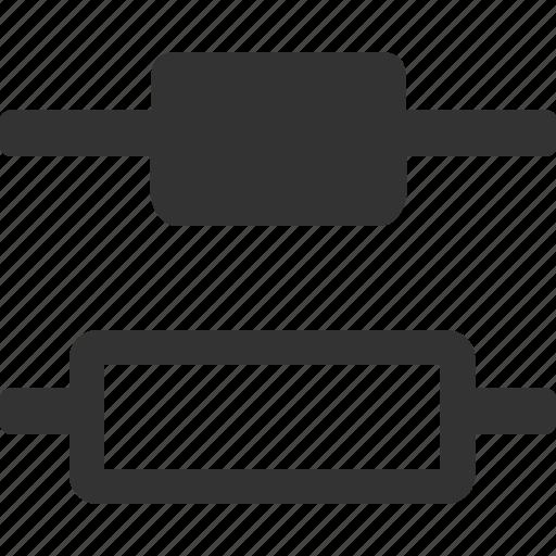 distribute vertical centers, distribute vertically, shape vertical distribution, vertical elements distribution icon