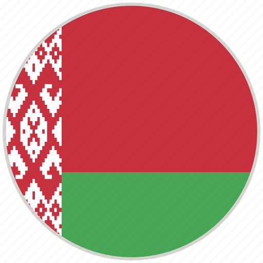 Belarus, circular, country, flag, national, national flag, rounded icon - Download on Iconfinder