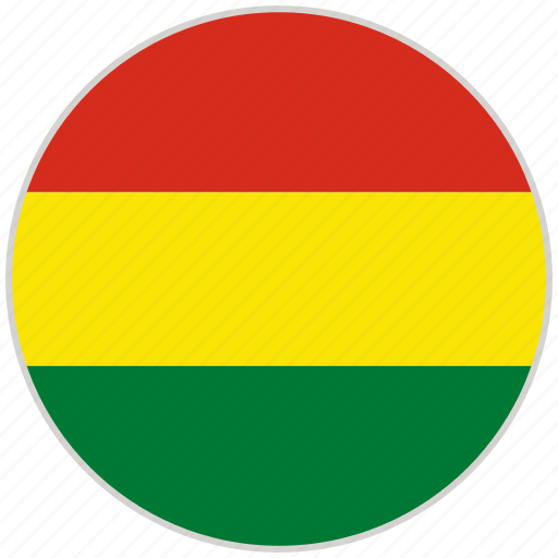 Bolivia, circular, country, flag, national, national flag, rounded icon - Download on Iconfinder