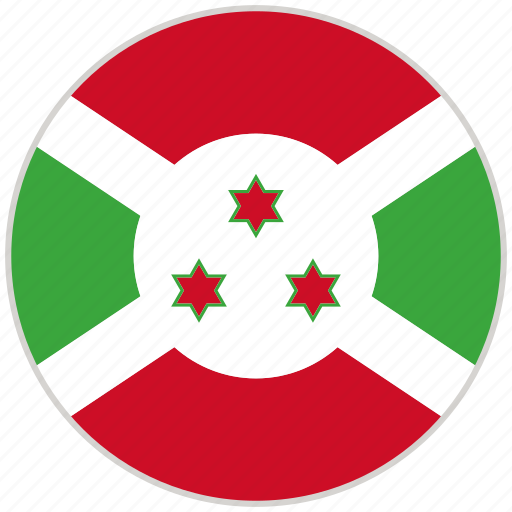 Burundi, circular, country, flag, national, national flag, rounded icon - Download on Iconfinder
