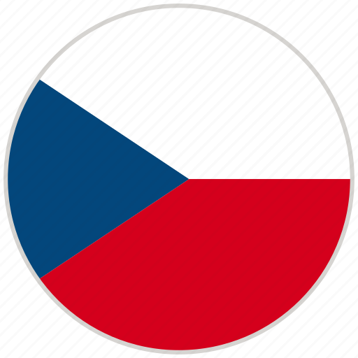 Circular, country, czech republic, flag, national, national flag, rounded icon - Download on Iconfinder