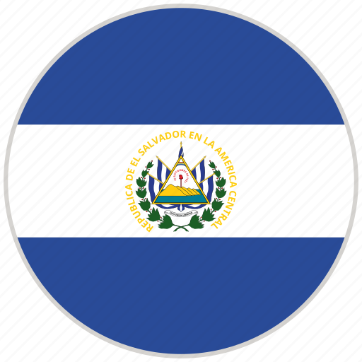 Circular, country, el salvador, flag, national, national flag, rounded icon - Download on Iconfinder