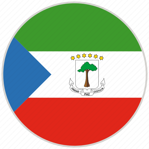 Circular, country, equatorial guinea, flag, national, national flag, rounded icon - Download on Iconfinder