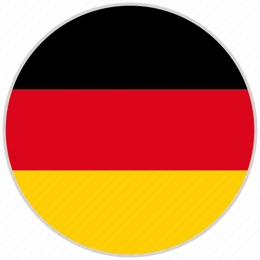 Circular, country, flag, germany, national, national flag, rounded icon - Download on Iconfinder