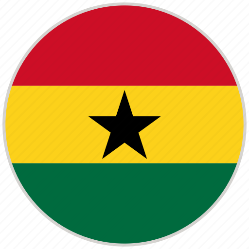 Circular, country, flag, ghana, national, national flag, rounded icon - Download on Iconfinder