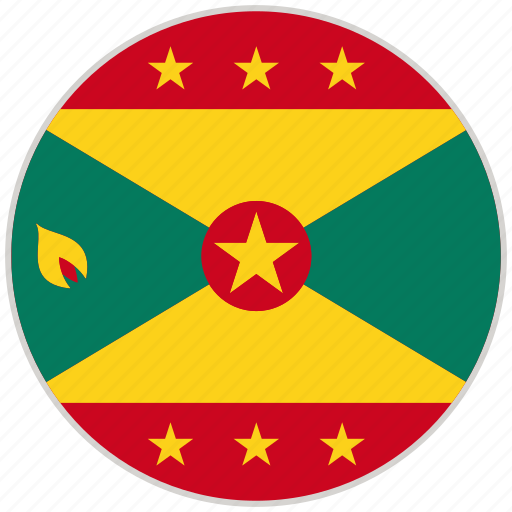 Circular, country, flag, grenada, national, national flag, rounded icon - Download on Iconfinder