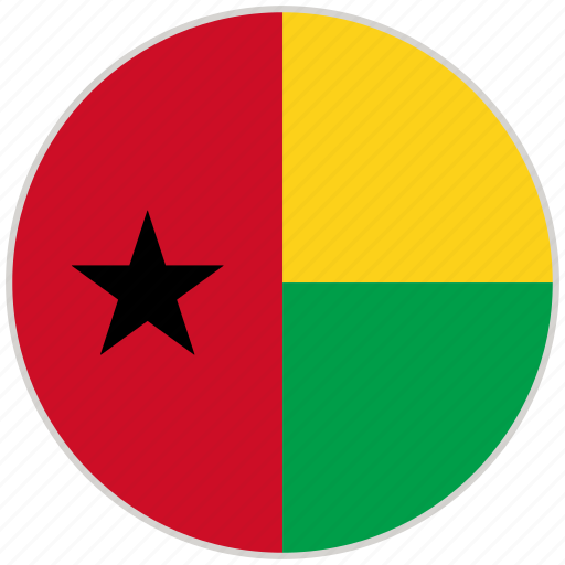 Circular, country, flag, guinea, national, national flag, rounded icon - Download on Iconfinder
